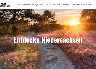 """Erweiterung der Kampagne """"Entdecke Deutschland"""""""
