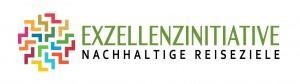 Logo der Exzellenzinitiative Nachhaltige Reiseziele