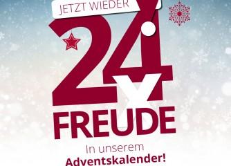 24 x Vorfreude auf Weihnachten und auf Niedersachsen